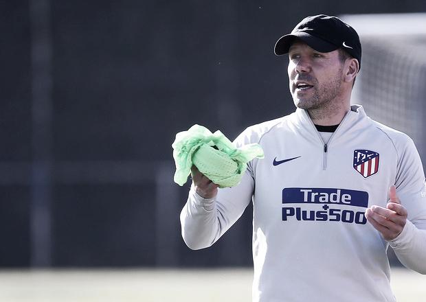 """Simeone: """"Necesitamos llevar el partido a donde nosotros queremos"""""""