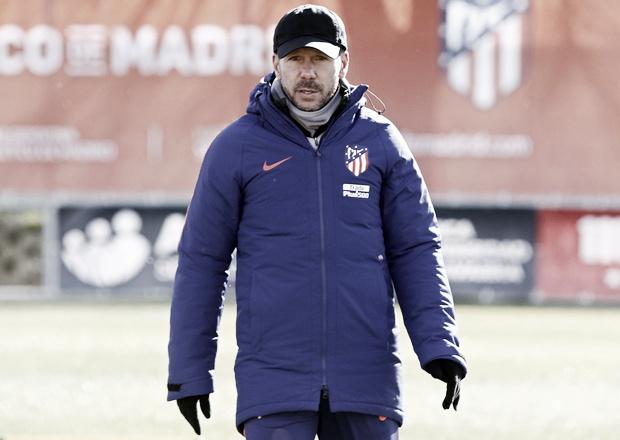 """Simeone: """"El Betis está en un gran momento, con mucho entusiasmo"""""""