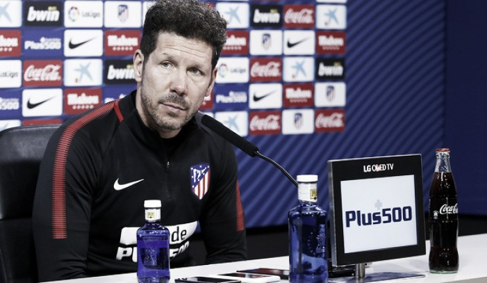 "Simeone: ""La clave es mantener la regularidad"""