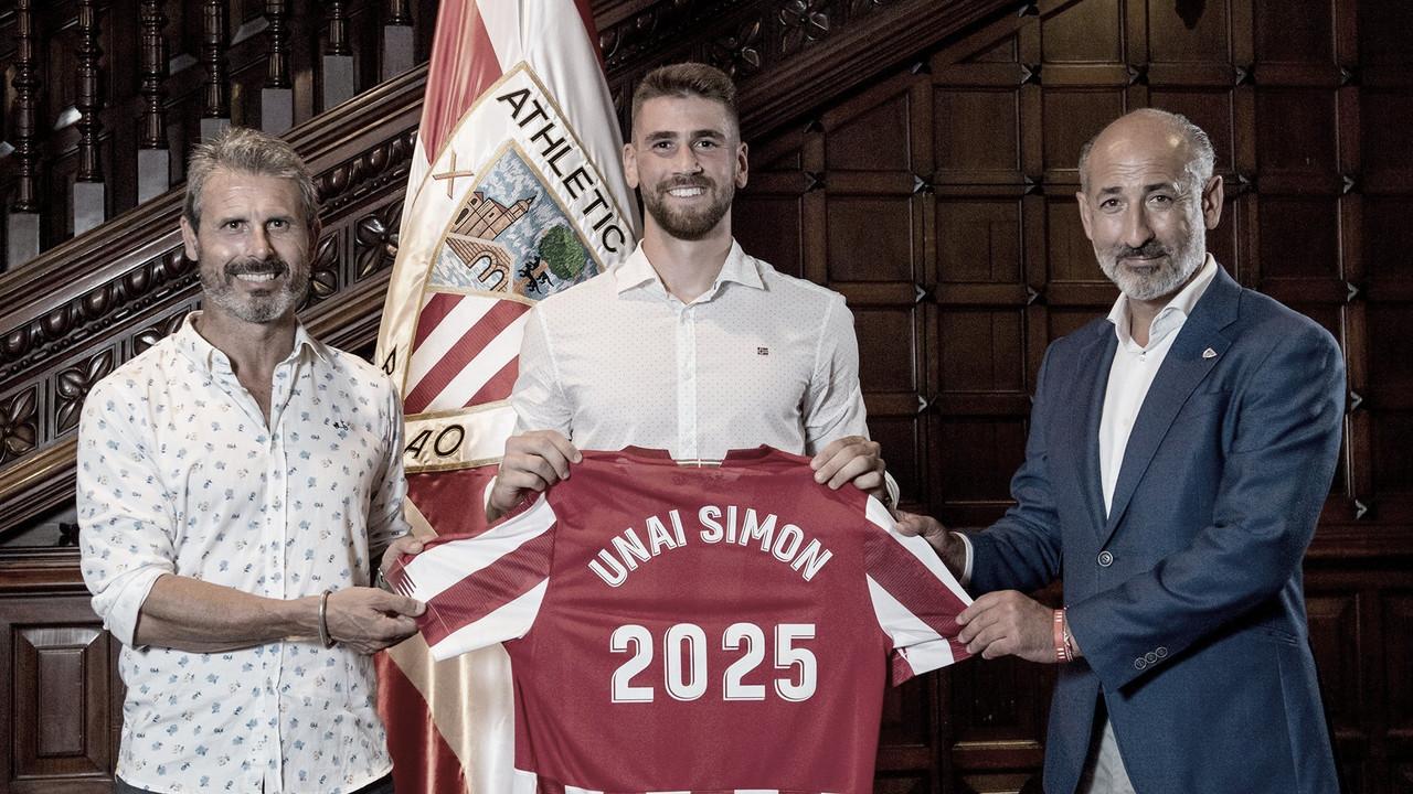 Unai Simón renueva hasta 2025