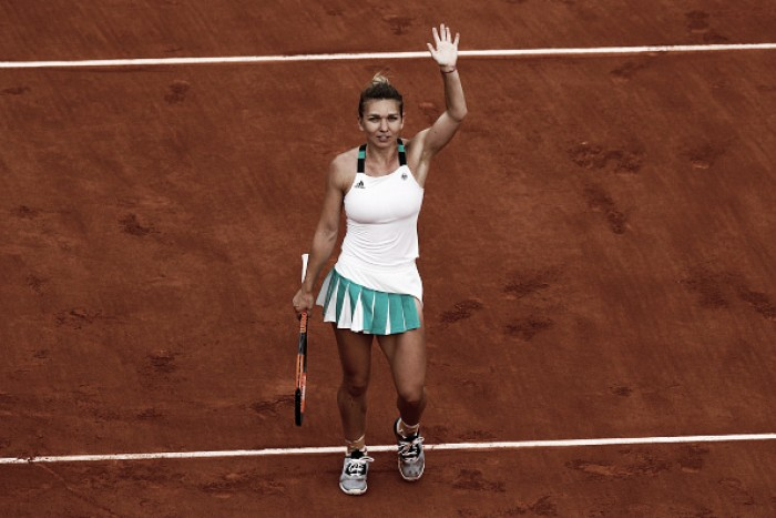 French Open: Simona Halep survives to reach a second Roland Garros final