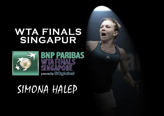 WTA Finals: Simona Halep, una oportunidad para ver la luz