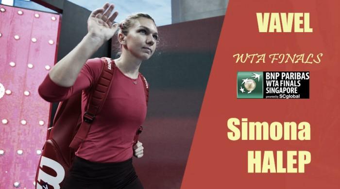 WTA Finals 2017. Simona Halep: a la caza en Singapur