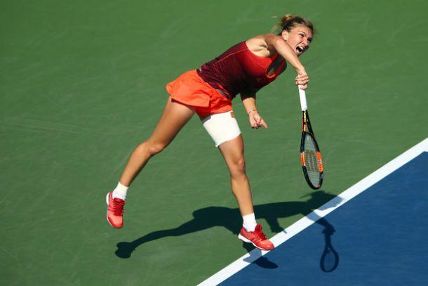 US Open: suicidio Lisicki, la Halep si salva. Avanti Kvitova e Azarenka