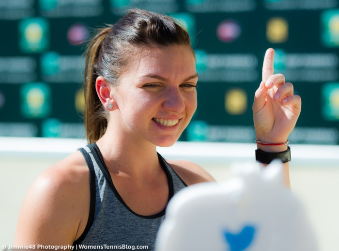 Simona Halep Feels 100 Percent Healthy And Ready To Compete