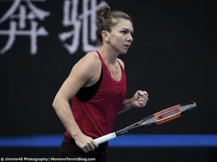 WTA Beijing: Halep breaks Sharapova curse, cruises into last eight