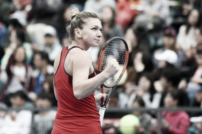 WTA Shenzhen: Simona Halep secures top-seed for Australian Open with excellent win over Duan Yingying