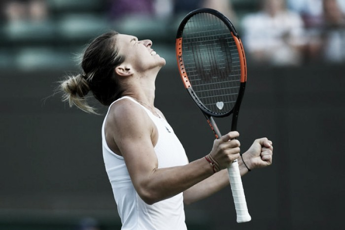 Wimbledon: Simona Halep ekes out tough win over Peng Shuai