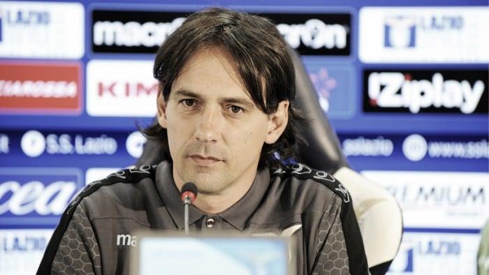 """Lazio, Inzaghi in conferenza: """"Testa e determinazione contro il Cagliari"""""""