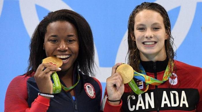 Simone Manuel:a primeira mulher negra campeã olímpica da natação