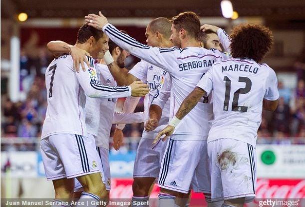 El Real Madrid sigue batiendo récords en el aspecto goleador