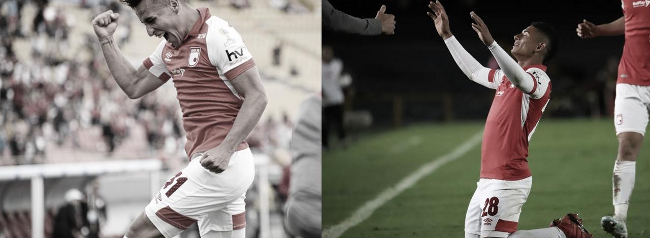 """Velásquez, Herrera y una consigna en común: """"No importa la posición, es un partido aparte y lo importante es jugarlo y ganar"""""""
