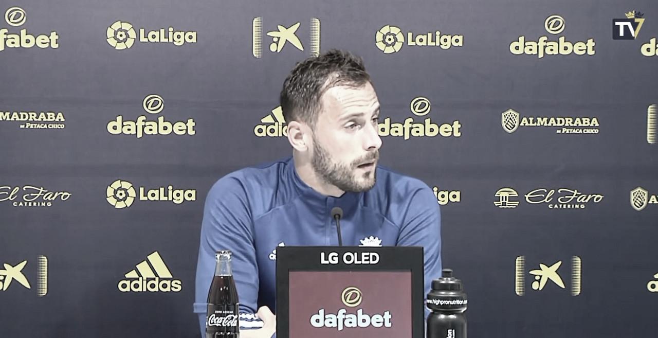 Filip Malbašić en Rueda de Prensa<div>Foto: Cádiz CF</div>