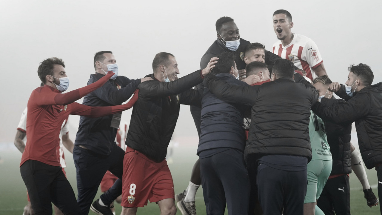 El Almería, rival a batir para llegar a semifinales