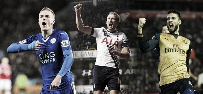 Leicester, Tottenham y Arsenal: último sprint hacia el título