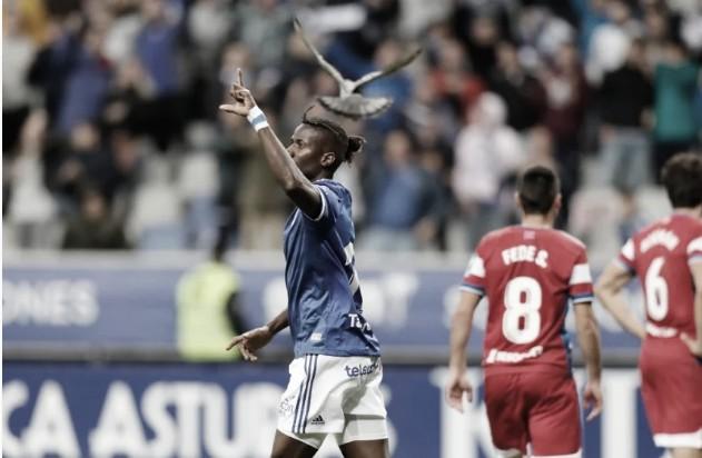 Real Oviedo-Granada CF: un empate en el que los locales les vale para soñar