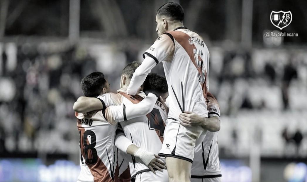 Un Rayo que no conoce derrota desde el partido ante el Oviedo
