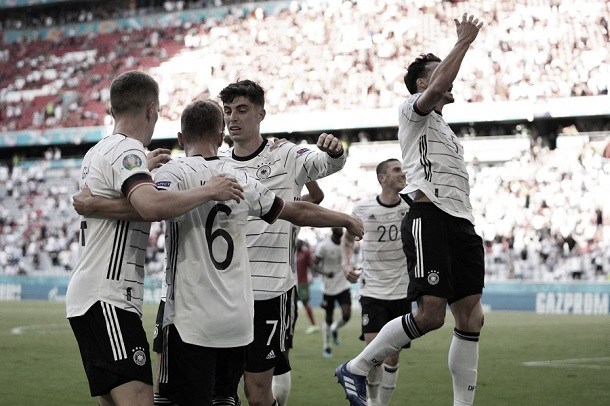 Alemania destroza a Portugal