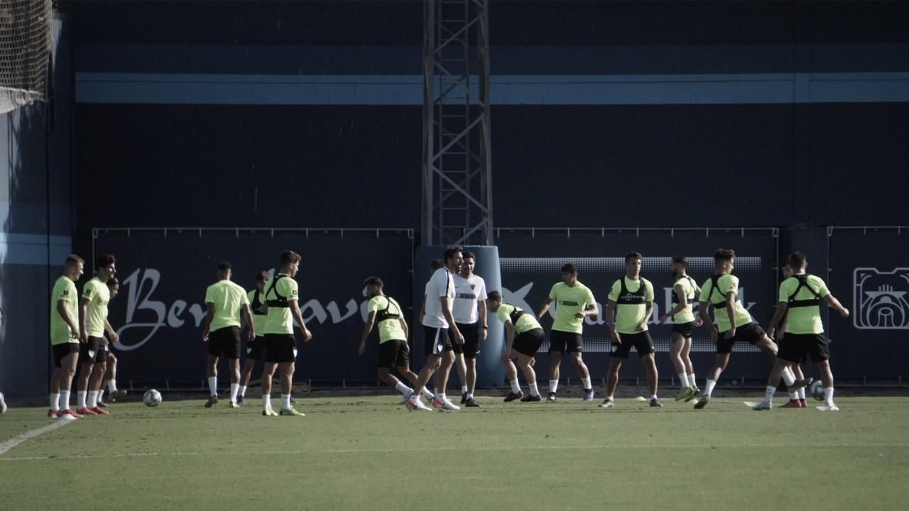El Málaga CF 19/20 da sus primeros pasos