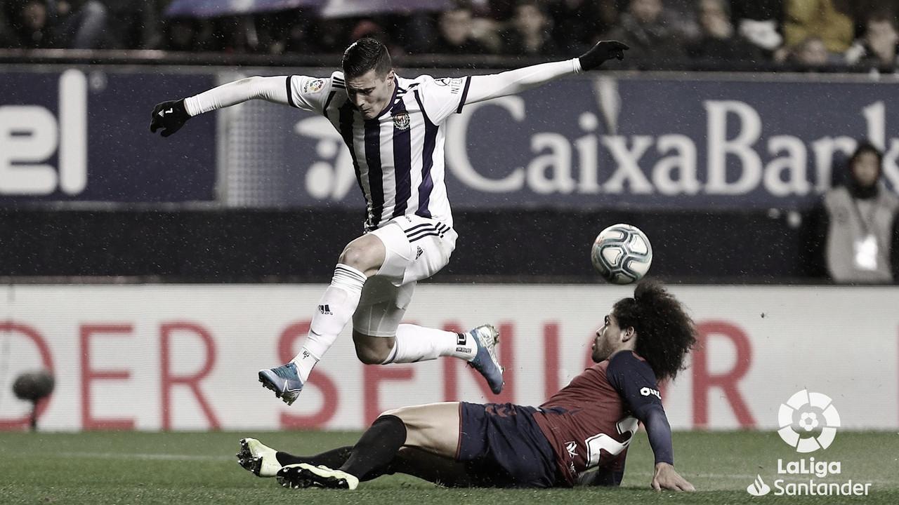 El Real Valladolid registra dos victorias a domicilio en El Sadar