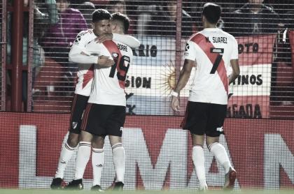 Debut goleador, debut en Primera
