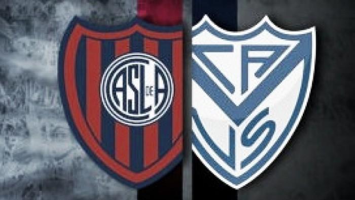 Resultado San Lorenzo vs Vélez Sarsfield por el Torneo Independencia 2016 (2-1)