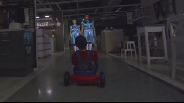 'El Resplandor' sirve de inspiración a IKEA para su anuncio de Halloween