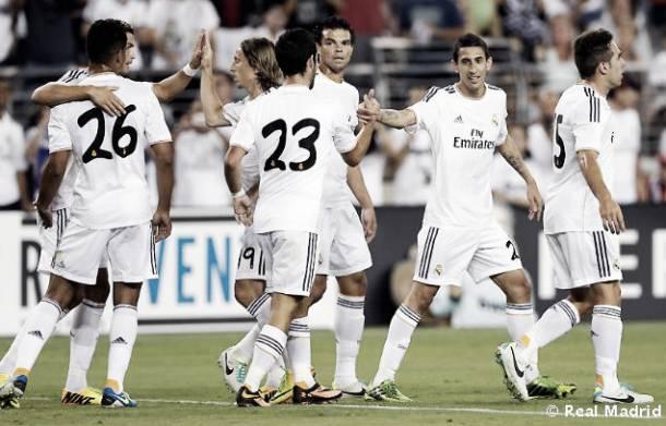 Isco se da un festín y el Real Madrid derrota al Galaxy