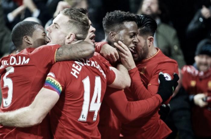 Origi y Milner salvan tres puntos ante el Sunderland