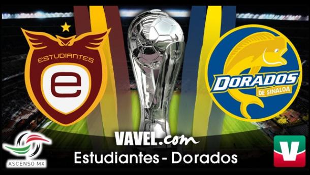 Resultado Estudiantes Tecos - Dorados de Sinaloa en Liguilla Ascenso MX 2014 (1-1)