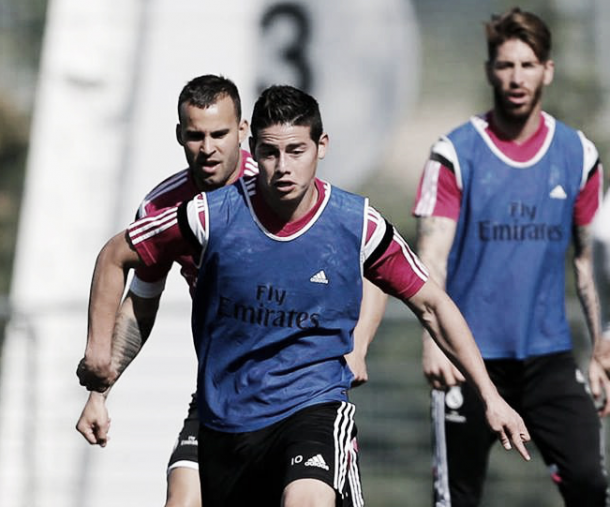 James Rodríguez regresa a entranamientos y podría jugar este domingo