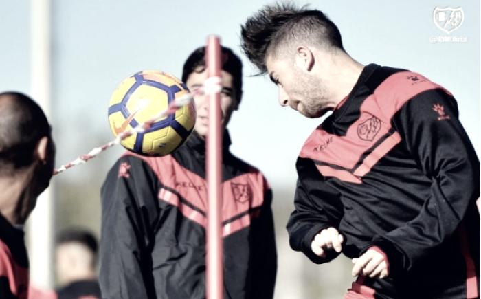 El Rayo ya prepara su partido ante el Zaragoza