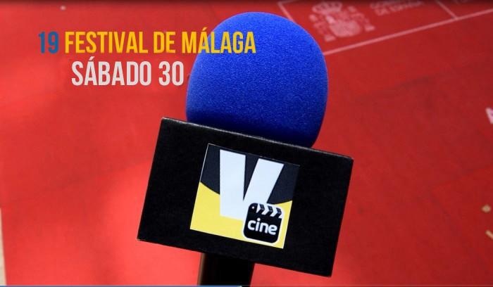 19 Festival de Málaga.Día 9. Entrevistas Eduardo Noriega, Michelle Jenner y Amaia Salamanca