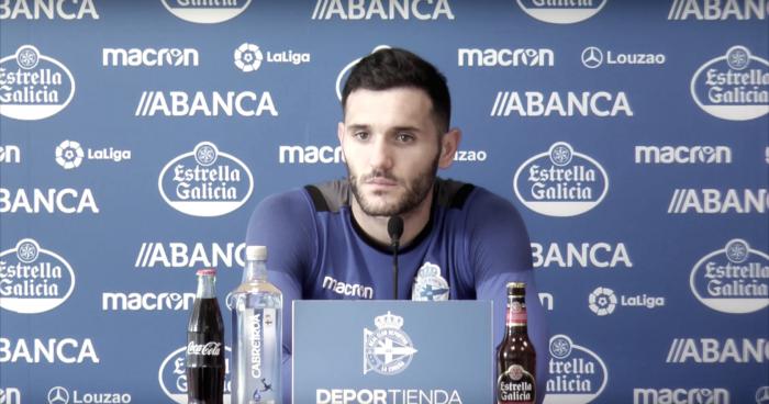 "Lucas Pérez, sobre Arribas: ""Si se marcha, lo sabremos entre hoy, mañana y pasado"""