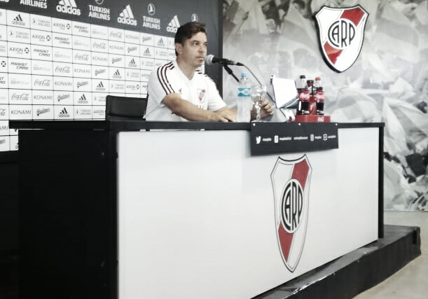 """Gallardo: """"No puedo garantizar un esquema durante todo el torneo"""""""