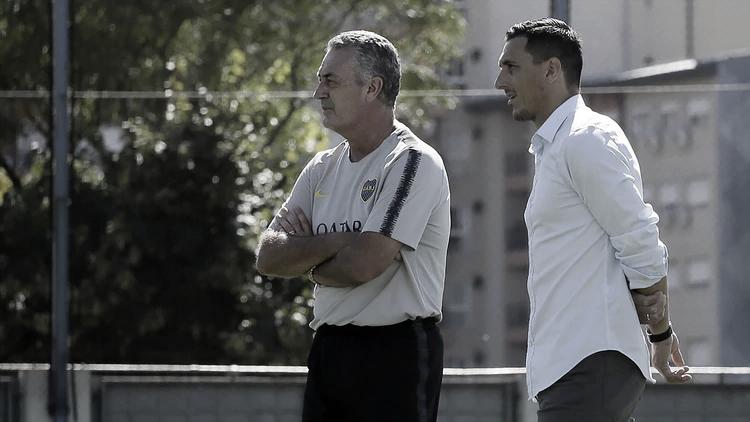 """Burdisso confía en Alfaro: """"Lo veo entero y lúcido para seguir hasta el final"""""""