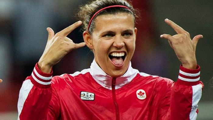 She shoots, she scores! Morgan hits record goal in Olympic qualifier