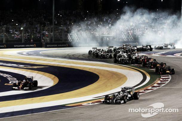 F1: GP de Singapura: O azar bateu na porta ao lado