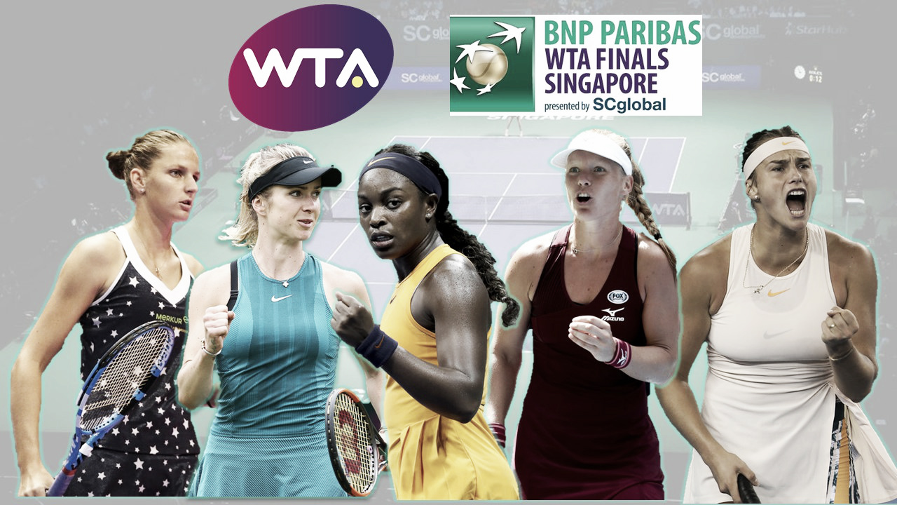 WTA: Competition for the last WTA Finals spots heats up