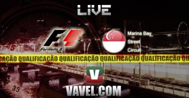 Qualificação GP de Singapura de F1, direto