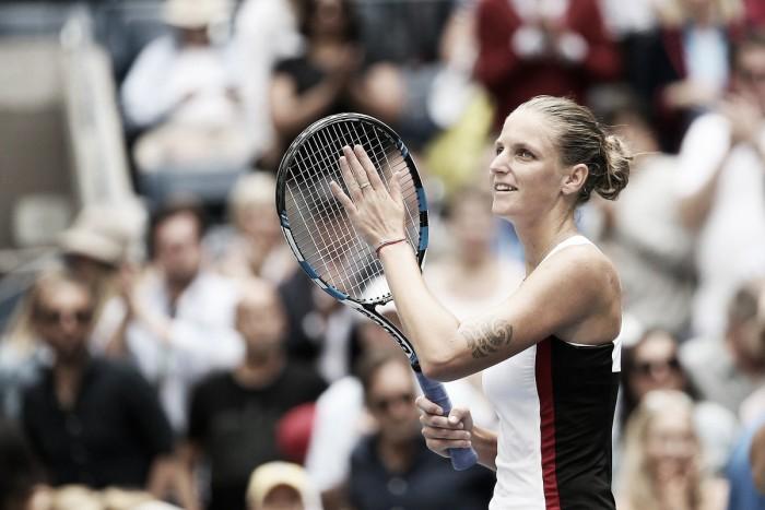 US Open : Karolína Plíškovác cumplió con la lógica y avanza de ronda