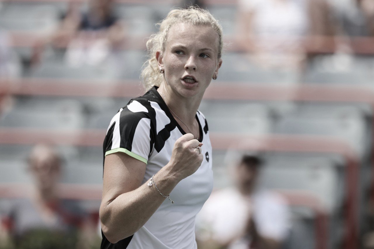 Ostapenko cai para Siniakova na estreia em Montreal; Sakkari avança