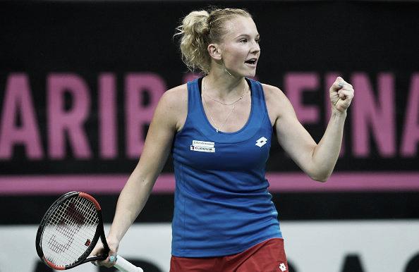 República Tcheca garante vitória dupla contra EUA e fica a um passo do título da Fed Cup