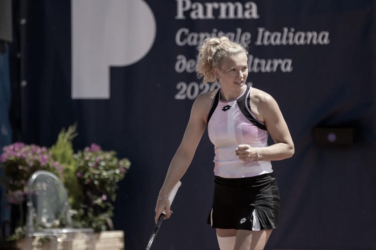 Serena Williams cai para Siniakova na segunda rodada em Parma