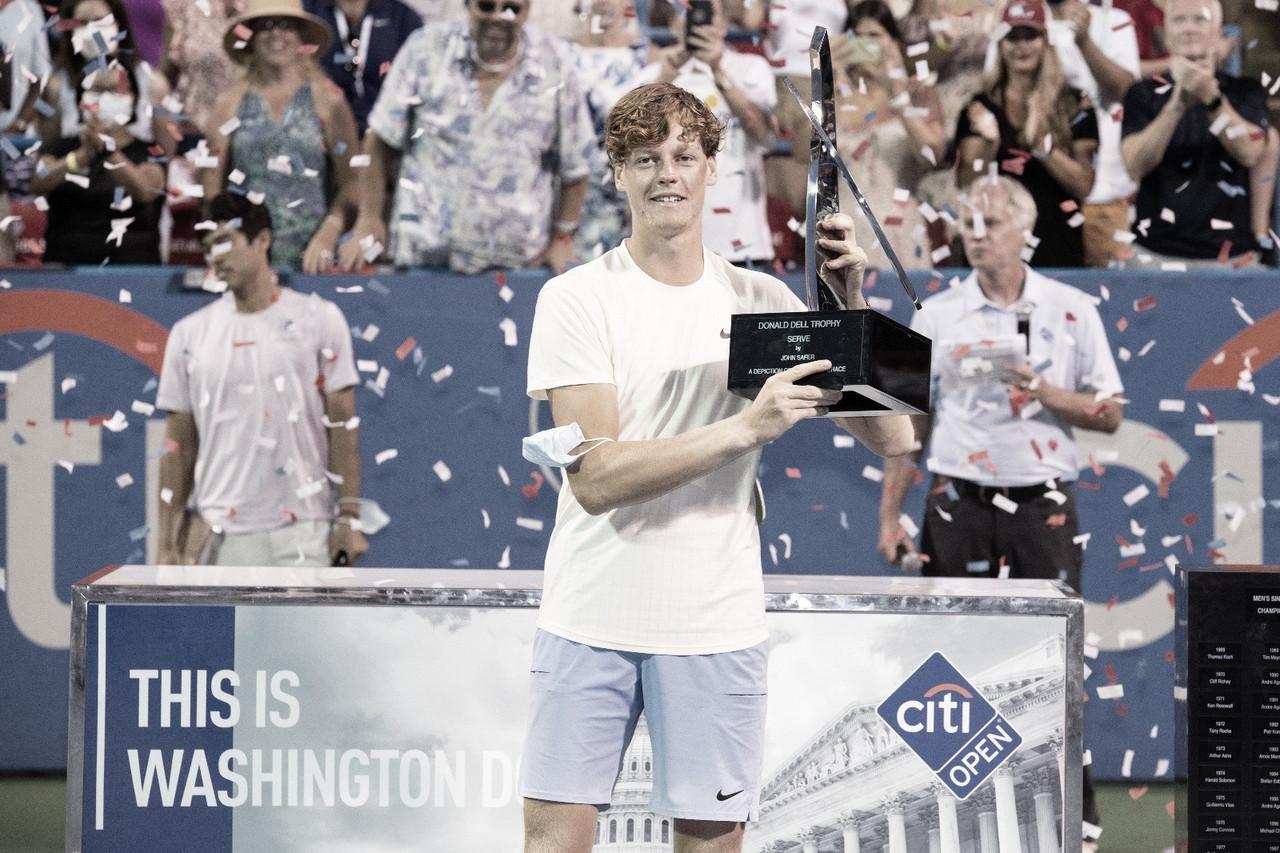 Sinner vence dura batalha contra McDonald e conquista o ATP 500 de Washington