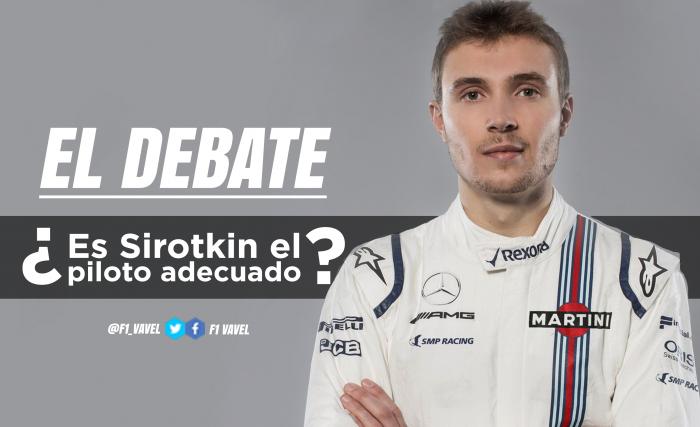 El debate: ¿es Sirotkin el piloto adecuado para Williams?