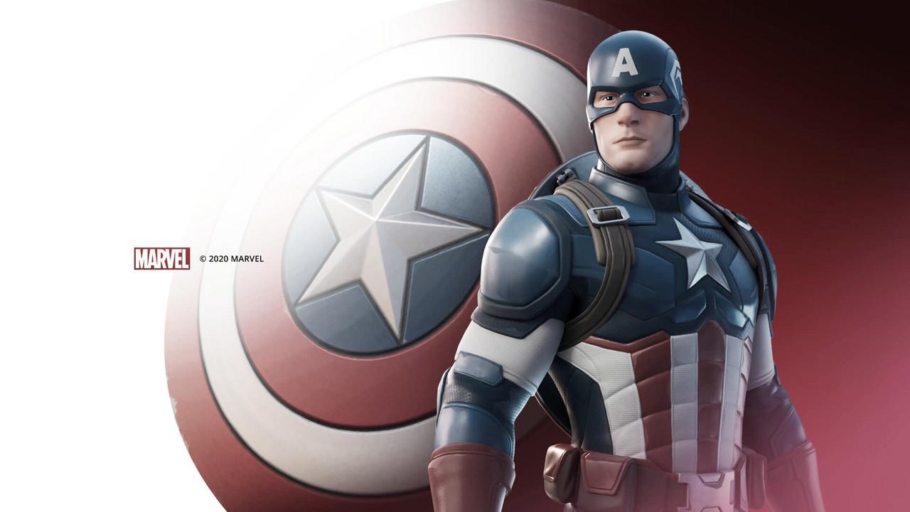 Fortnite tem nova skin do Capitão América