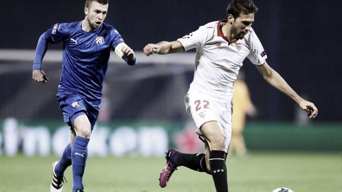 Champions League, il Siviglia rifila un poker alla Dinamo Zagabria
