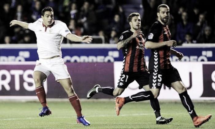Liga - Katai risponde a Ben Yedder: 1-1 tra Alaves e Siviglia