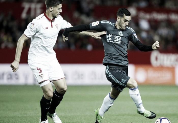 Liga - La Real Sociedad blocca il Siviglia al Pizjuan (1-1)